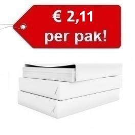 Kopieerpapier EURO 2,11 per pak