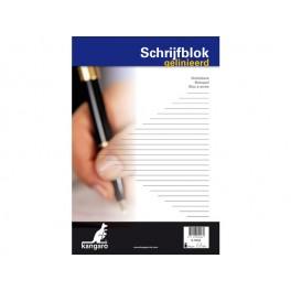 Fastprint Schrijfblok A4 21x29.7cm lijn