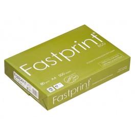 Recycled Kopieerpapier A4 80 grams Fastprint Eco / Doos (5 pak à 500 vel)