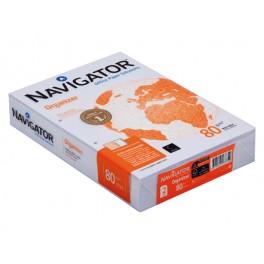 Kopieerpapier A4 80 grs. 2 gaats geponsd Navigator (FSC) / Doos (5 pak à 500 vel)