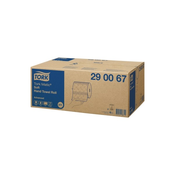 Tork 290067 Handdoekrol Soft H1 Matic System 2 Laags