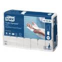 Tork 100289, Papieren Handdoekjes Multifold Soft (H2 Xpress System), 2-laags Wit, pak à 21 x 150 stuks