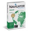 Kopieerpapier A4 80 grs. 23 gaats geponsd Navigator (FSC) / Doos (5 pak à 500 vel)