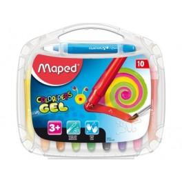 Maped Color'Peps Smoothy Gel Krijtjes, doos à 10 stuks assorti
