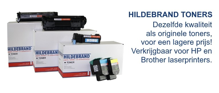 Hildebrand toners voor HP en Brother